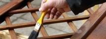 Como pintar em madeira