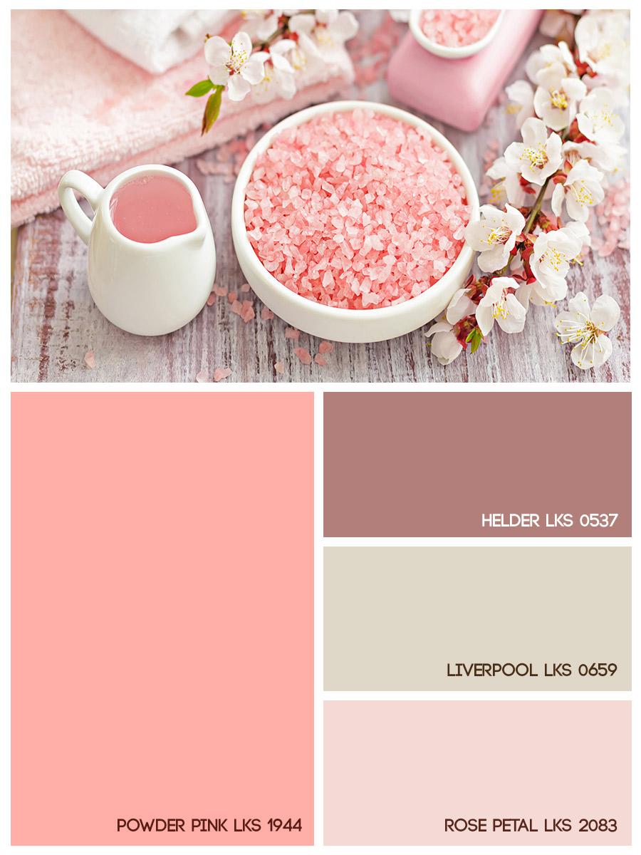 Powder pink LKS 1944