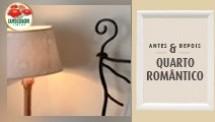 Antes e depois: Quarto romântico