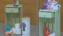 Lar em Reforma - Móveis de caixotes…